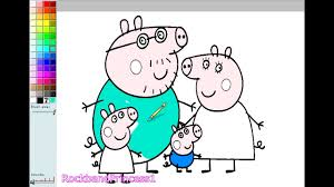 pages peppa pig coloring pages peppa pig colouring pictures game