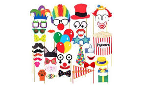 photo booth supplies circus party photo booth props photobooth supplies groupon