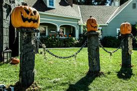 how to diy pumpkin fence pillars home u0026 family hallmark channel
