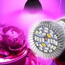 28w full spectrum e27 led grow light growing lamp light bulb for