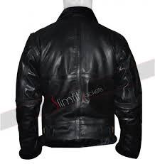 black leather motorcycle jacket heavy duty faux fur biker black leather jacket