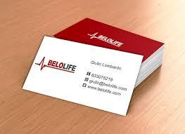 tarjeta de visita diseo diseño de tarjetas de visita para belolife online studio