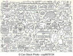 doodle vectors free doodle sketch elements vector set doodle speech eps