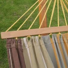 amazon com prime garden cotton hammock 12 foot wood arc backyard