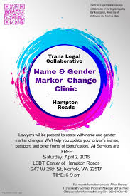 fan free clinic richmond va virginia equality bar association news