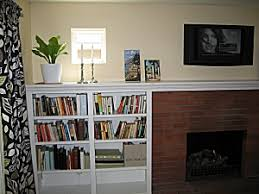 Fireplace Mantels With Bookcases Custom Fireplace Mantel And Surround