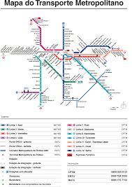 Manhattan Metro Map by Sao Paulo Subway Map My Blog