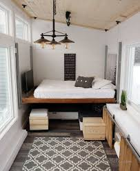 House Bedroom Design A Tiny House With A Unique Clever Bedroom Solution
