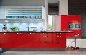 Red Mahogany Kitchen Cabinets by Kitchen Red Grey Pattern Wooden Laminate Bar Top Black Granit Bar