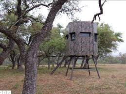 Tree Trunk Hunting Blind Ranch King 6x6 Insulated Hunting Blind For Sale 1062