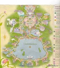 disney epcot map 2014 epcot flower and garden map and passport disneydining