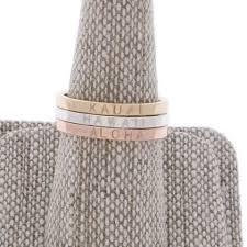 engraved stackable rings rings cheyanne jewels kauai
