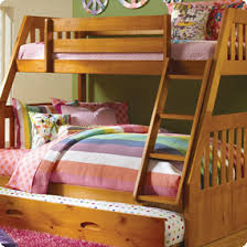 Camper Bunk Bed Sheets by Discovery World Furniture Honey Twin Over Full Mission Bunk Bed
