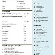 cover letter great resume examples for college students great