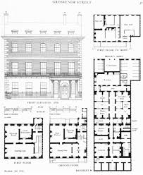 Georgian House Plans by Georgian Floor Plan Valine