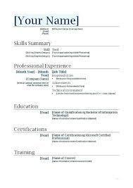 nanny resume template professional nanny resume