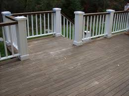 love the idea of painting top railing slightly darker color than