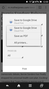 how to save to android save as pdf in print menu on android chrome image from how to