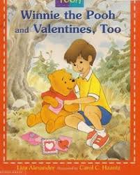 disneys winnie pooh valentines liza alexander