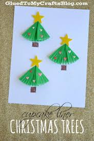 Arts And Crafts Christmas Cards - 25 unique cupcake liner crafts ideas on pinterest ocean kids