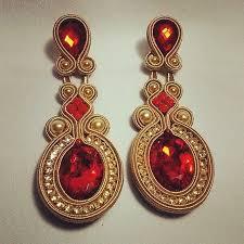 soutache earrings 1905 best soutache earrings images on soutache