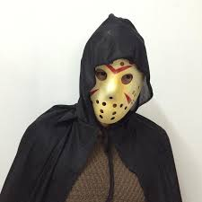 jason costume new dressing killer costume jason mask black hooded