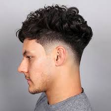 haircut for men with curly hair various retro hairstyles for men latest fashionthese