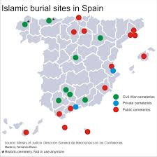 Map Of Spain Regions by Islam In Spain Euro Islam News And Analysis On Islam In Europe