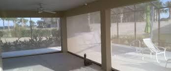 retractable patio u0026 lanai screens ideal sun shades