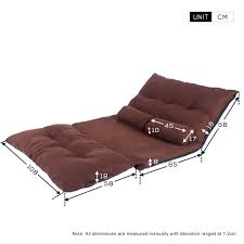 Double Sofa Bed Mattress by Life Carver Adjustable Floor Double Sofa Bed Thicken Padded