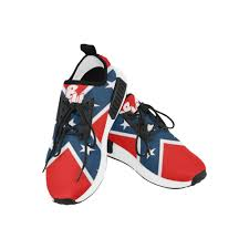Different Confederate Flags Bu Confederate Flag Men U0027s Casual Sneakers Different Mens