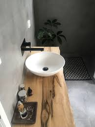 Bathroom Sinks Ideas by Best 25 Timber Vanity Ideas Only On Pinterest Natural Bathroom