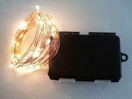 led fairy lights with timer 6m 60 led 3aa outdoor battery powered timer led copper wire string