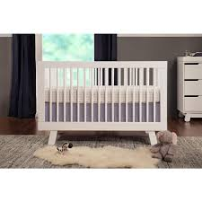 3 In 1 Convertible Cribs Babyletto Hudson 3 In 1 Convertible Crib With Toddler Rail White