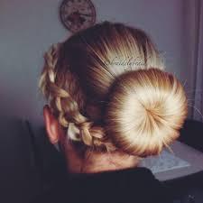 howtododoughnut plait in hair doughnut braid bun hairstyles how to peinados pinterest
