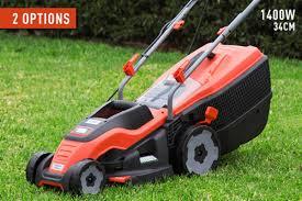 Scoopon Delivered Black U0026 Decker Electric Lawn Mowers