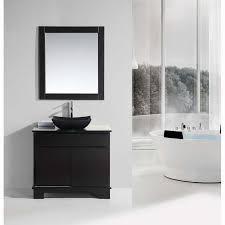 design element bathroom vanities design element oasis 36 single sink vanity set with decorative