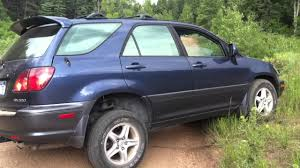 lexus rx300 model 2003 lexus rx 300 off road youtube