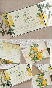 Yellow Wedding Invitation Cards 220 Best Yellow Wedding Inspiration Images On Pinterest Marriage