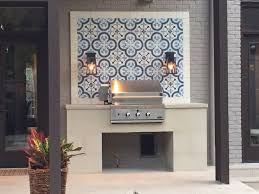 granada tile cement tiles pop in outdoor spaces from patios to