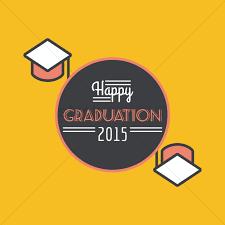 graduation poster happy graduation 2015 poster vector image 1514051 stockunlimited
