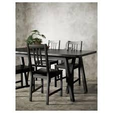 Ikea Dining Room Tables Ryggestad Table Grebbestad Black Ikea