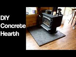 your own wood stove hearth