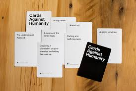 words against humanity cards we are all horrible kickstarter