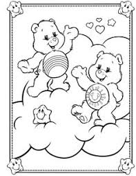 care bears bringing ice cream care bears coloring pages