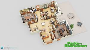Floor Plan Office Layout Check Out These 3d Floor Plans Of The Sets For U0027the Office