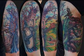 lord of the rings tattoo by jamie lee parker tattoonow