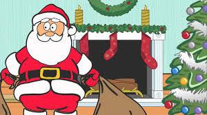 dancing santa claus cartoon youtube