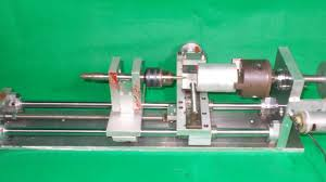 diy mini lathe tailstock wood metal drill homemade cnc spindle
