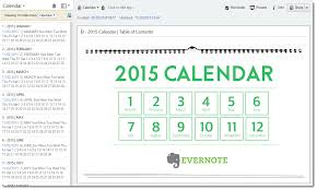 how to create a planner with the evernote calendar template dr